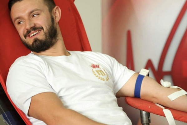 Life is blood  –  MaxBet employees' actions of voluntary blood donation